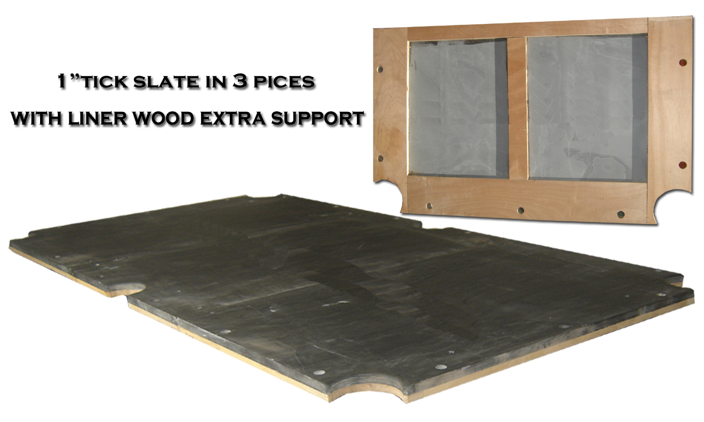 Pool Table Construction - Slate core pool table