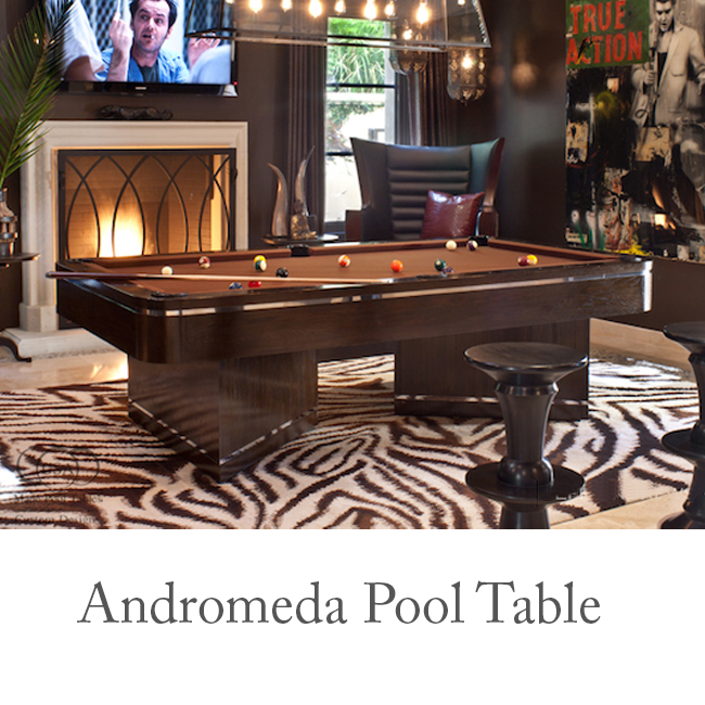 Andromeda Contemporary Pool Table