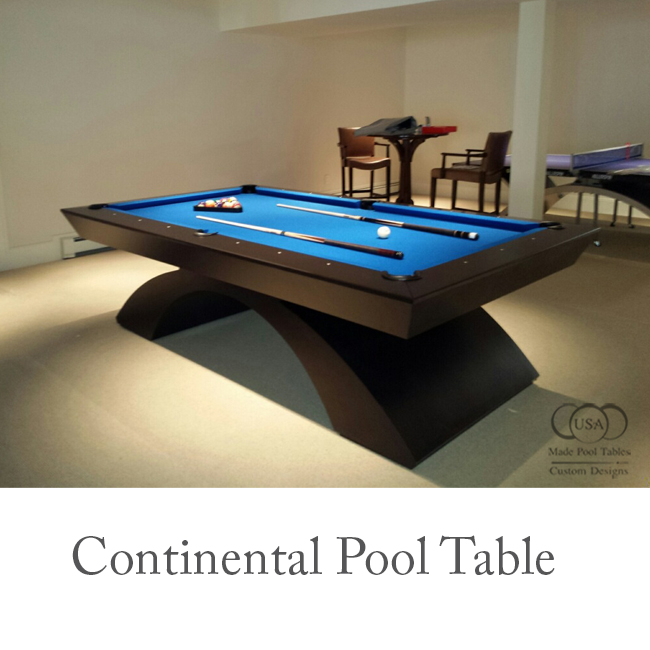 Continental Contemporary Pool Table