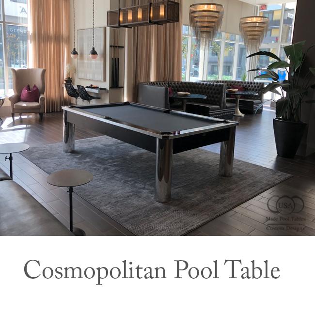 The Cosmopolitan Contemporary Pool Table