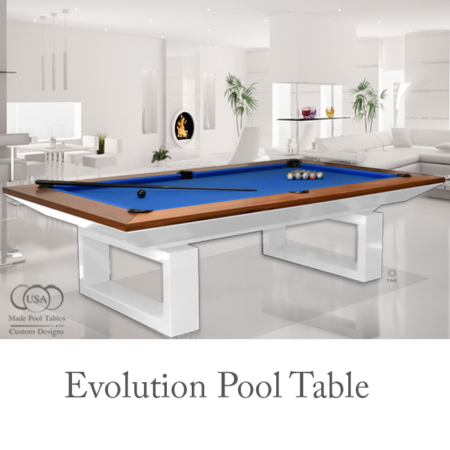 EVOLUTION CONTEMPORARY POOL TABLE