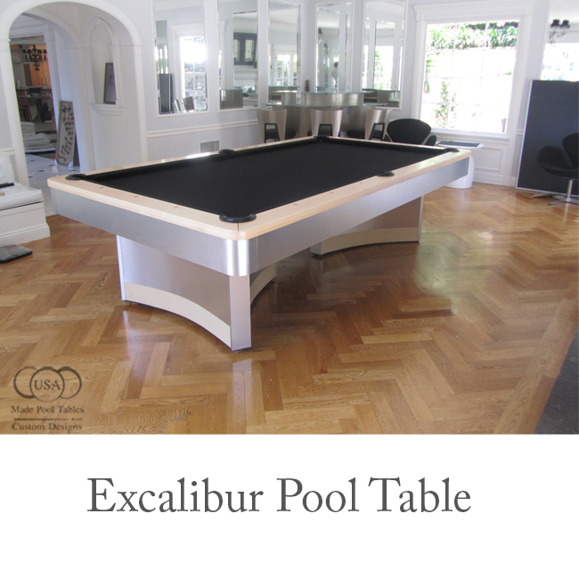 Excalibur Contemporary Pool Table