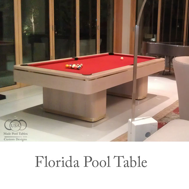 Florida Contemporary Pool Tables