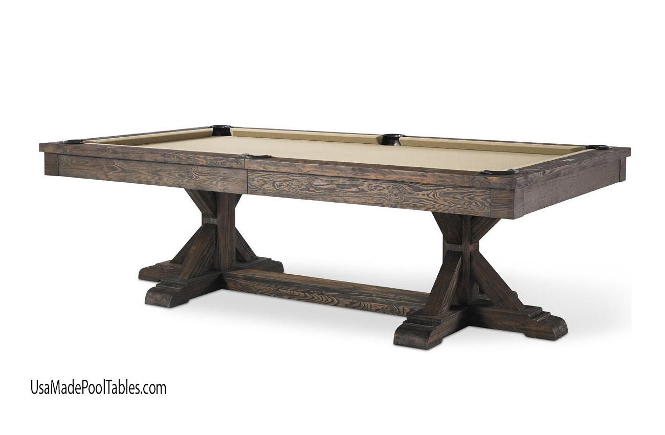 Forrest Rustic Pool Table