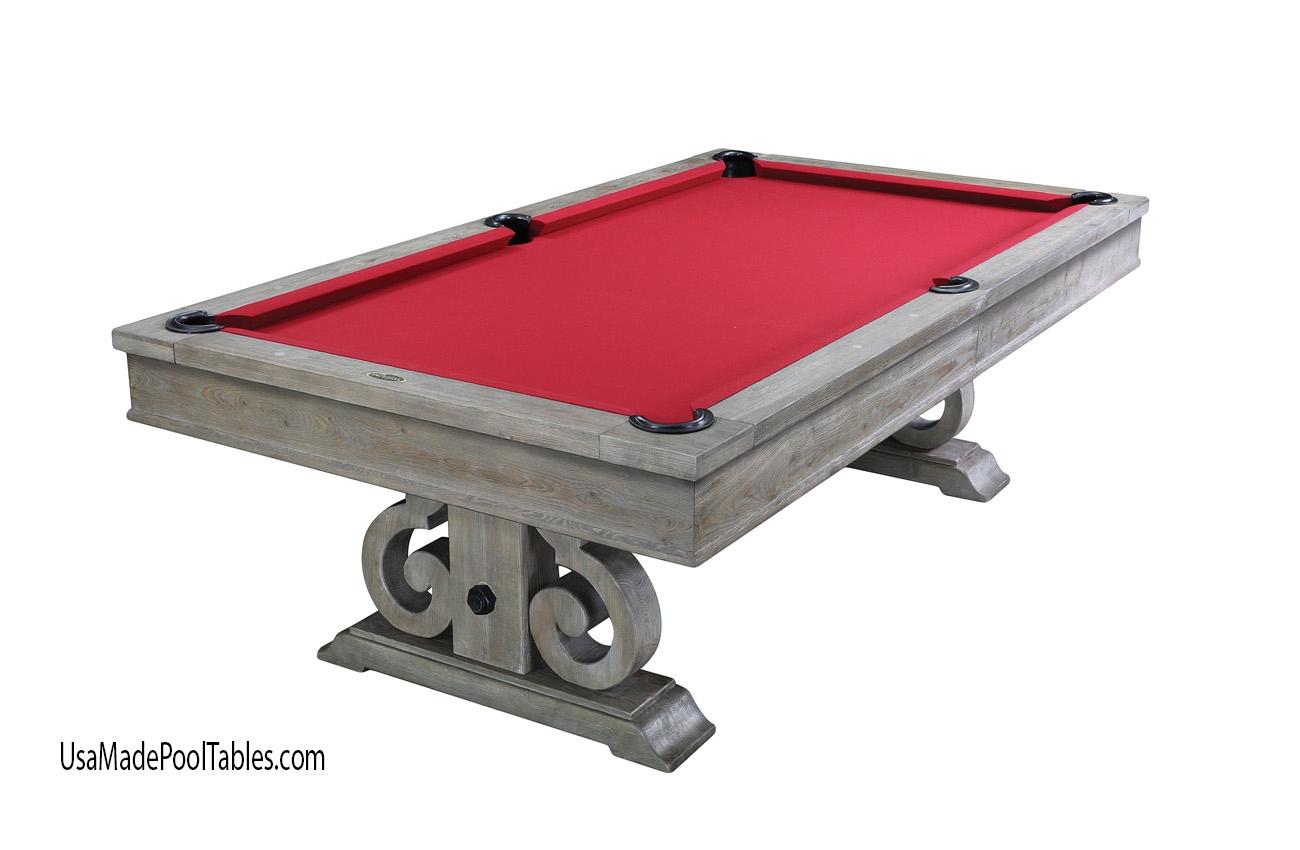 Franklin Rustic Pool Table