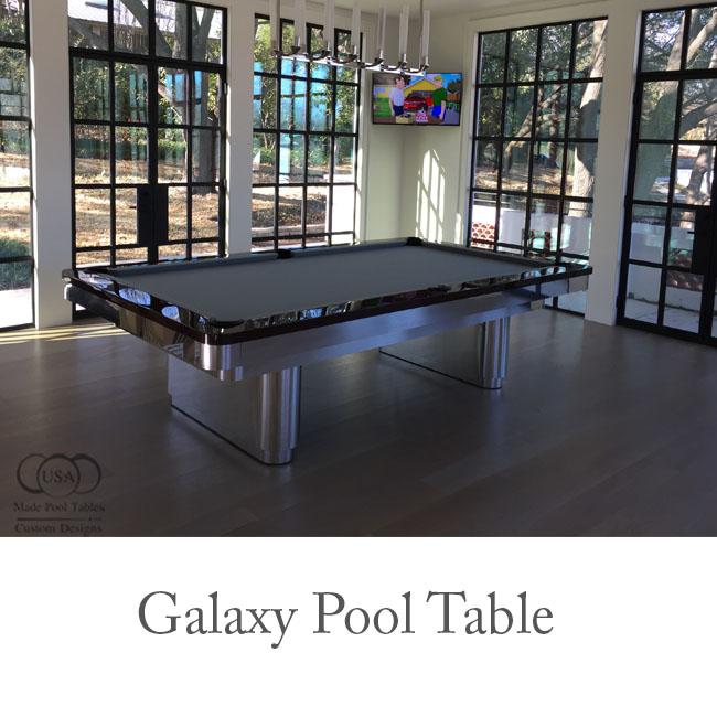 Galaxy Contemporary Pool Table