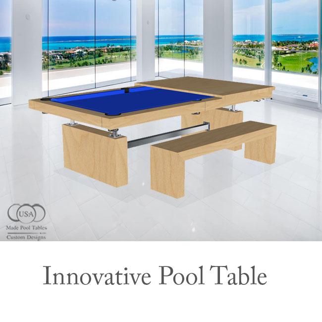 Innovative Modern Pool Tables