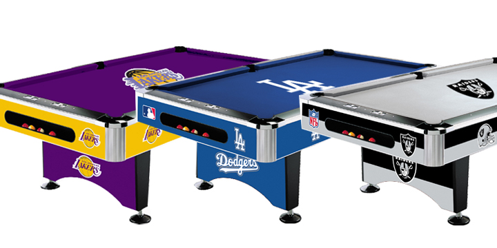 Wonderful NFL   MLB   NBA   Pool Tables