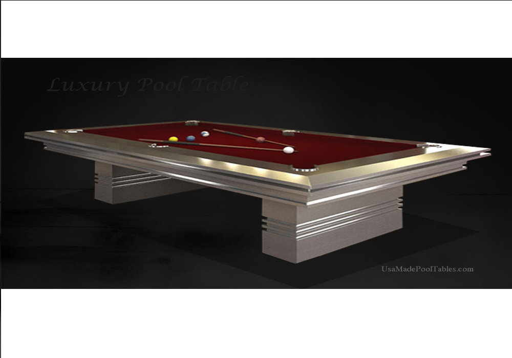 POOL TABLES LUXURY CONTEMPORARY POOL TABLE CONTEMPORARY POOL - Luxury billiards table