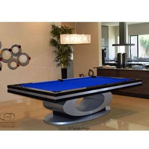Oval Modern Pool Table