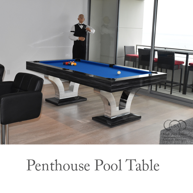 PENTHOUSE CONTEMPORARY POOL TABLES