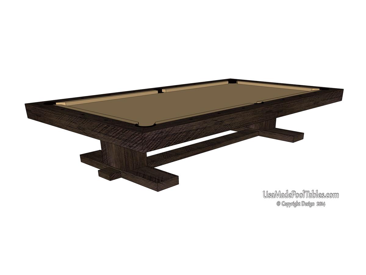 Rustic Farmhouse Pool Table