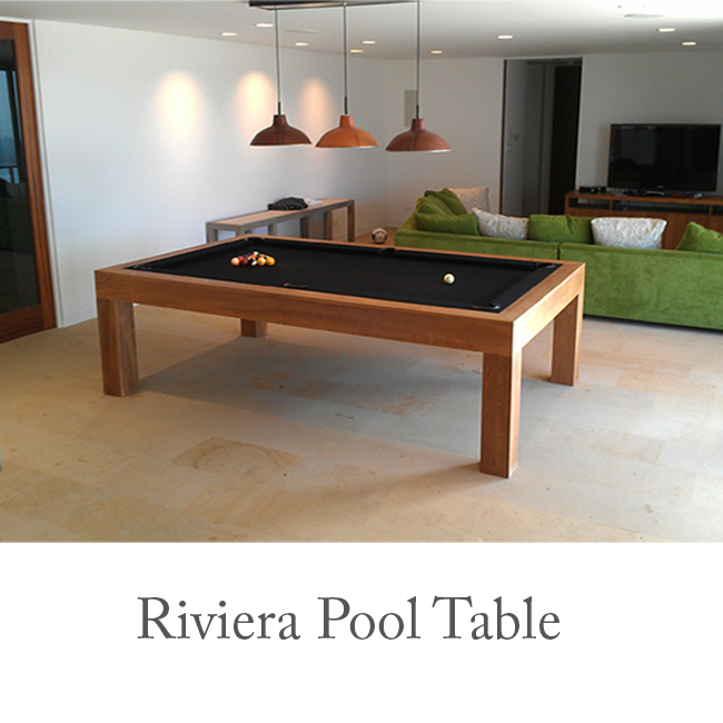 Riviera Contemporary Pool Table