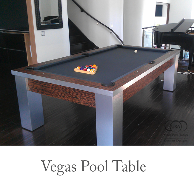 Vegas Contemporary Pool Table