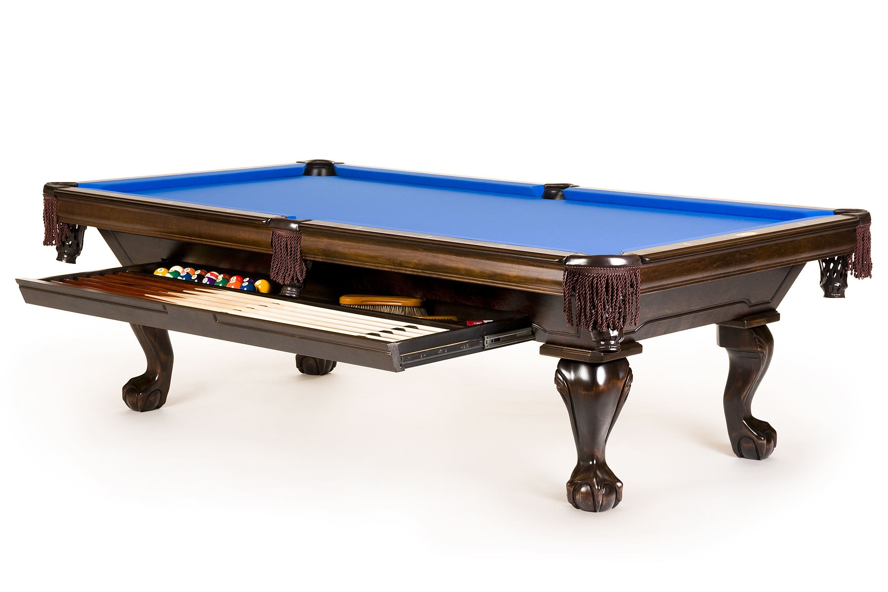 Pool Tables Pool Table contemporary Pool Tables  : clawfoot drawer 1800 full from usamadepooltables.com size 1800 x 1200 jpeg 202kB