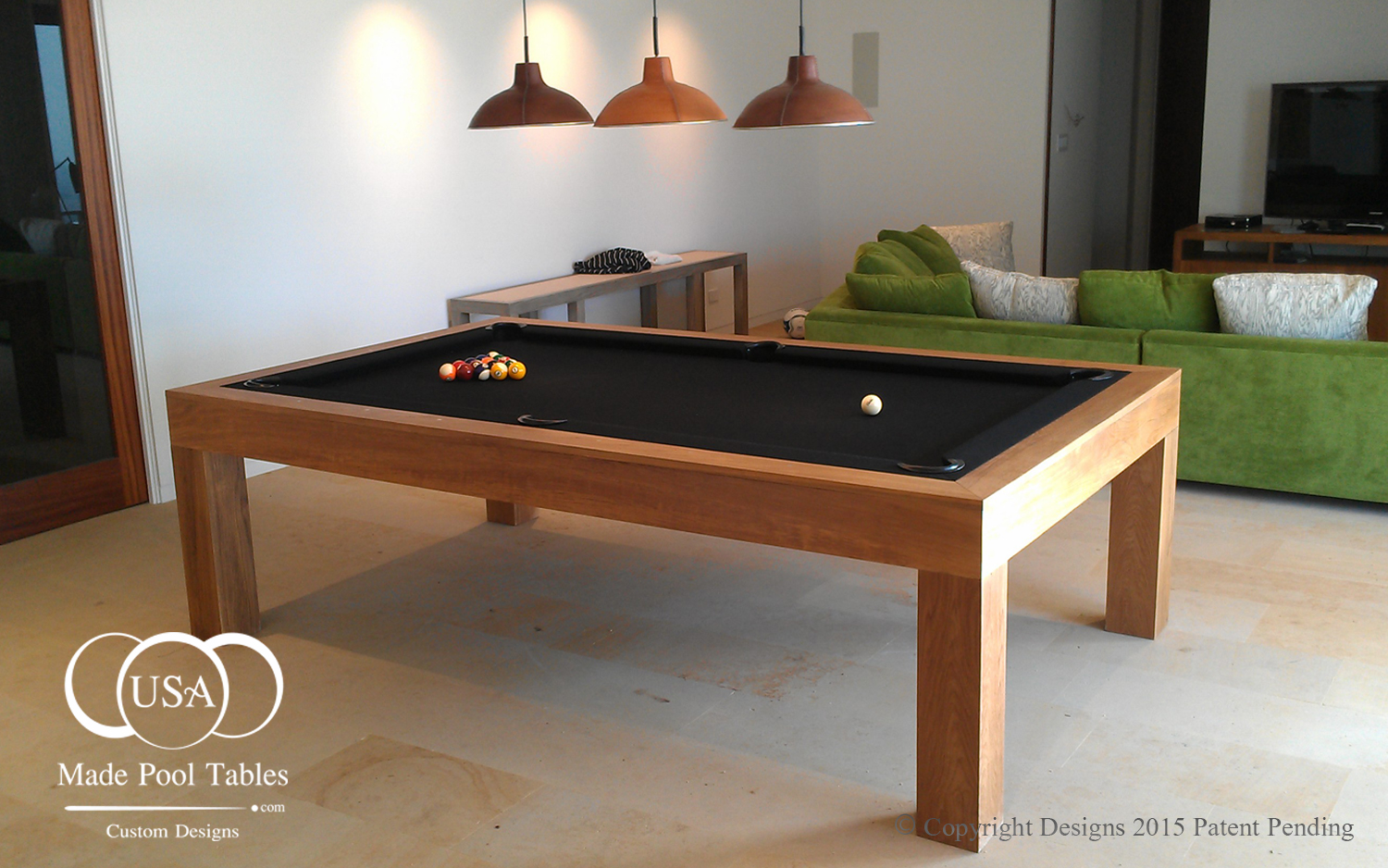 Pool tables pool table contemporary pool tables modern pool table bil - Billard table moderne ...