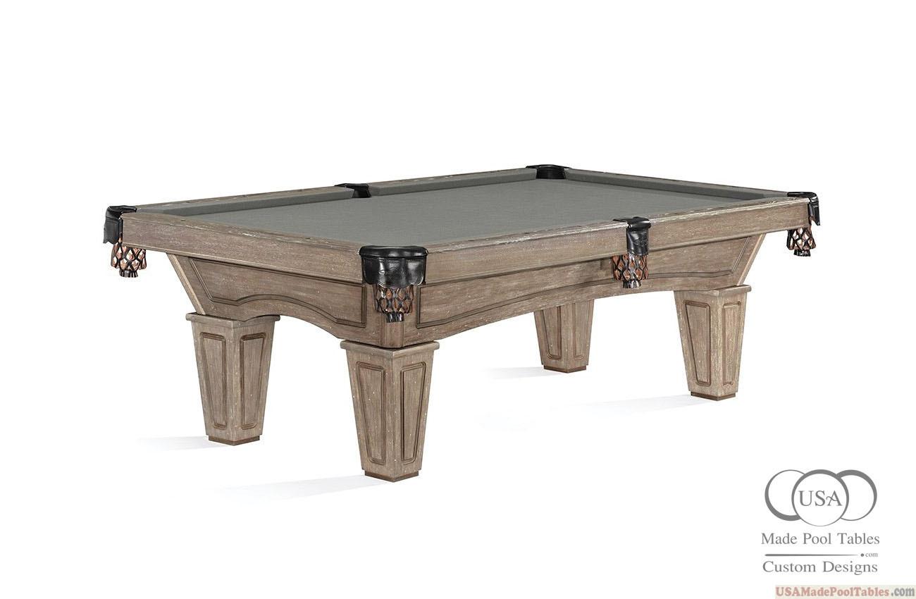 Allenton Pool Table Driftwood Finish