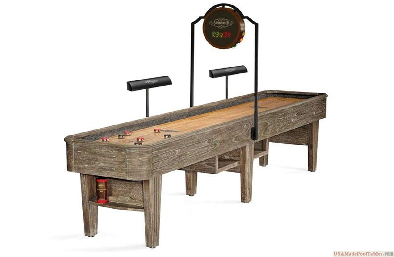 Andover Shuffleboard Table Driftwood