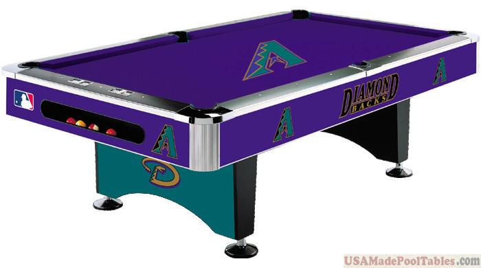 MLB Arizona Diamondbacks Pool table : ARIZONA POOL TABLES :