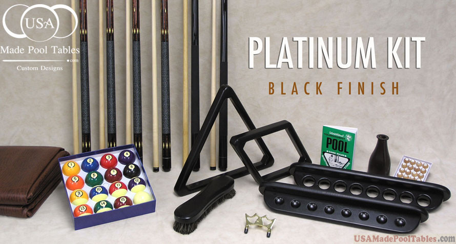 Platinum Pool Table Accessories kit