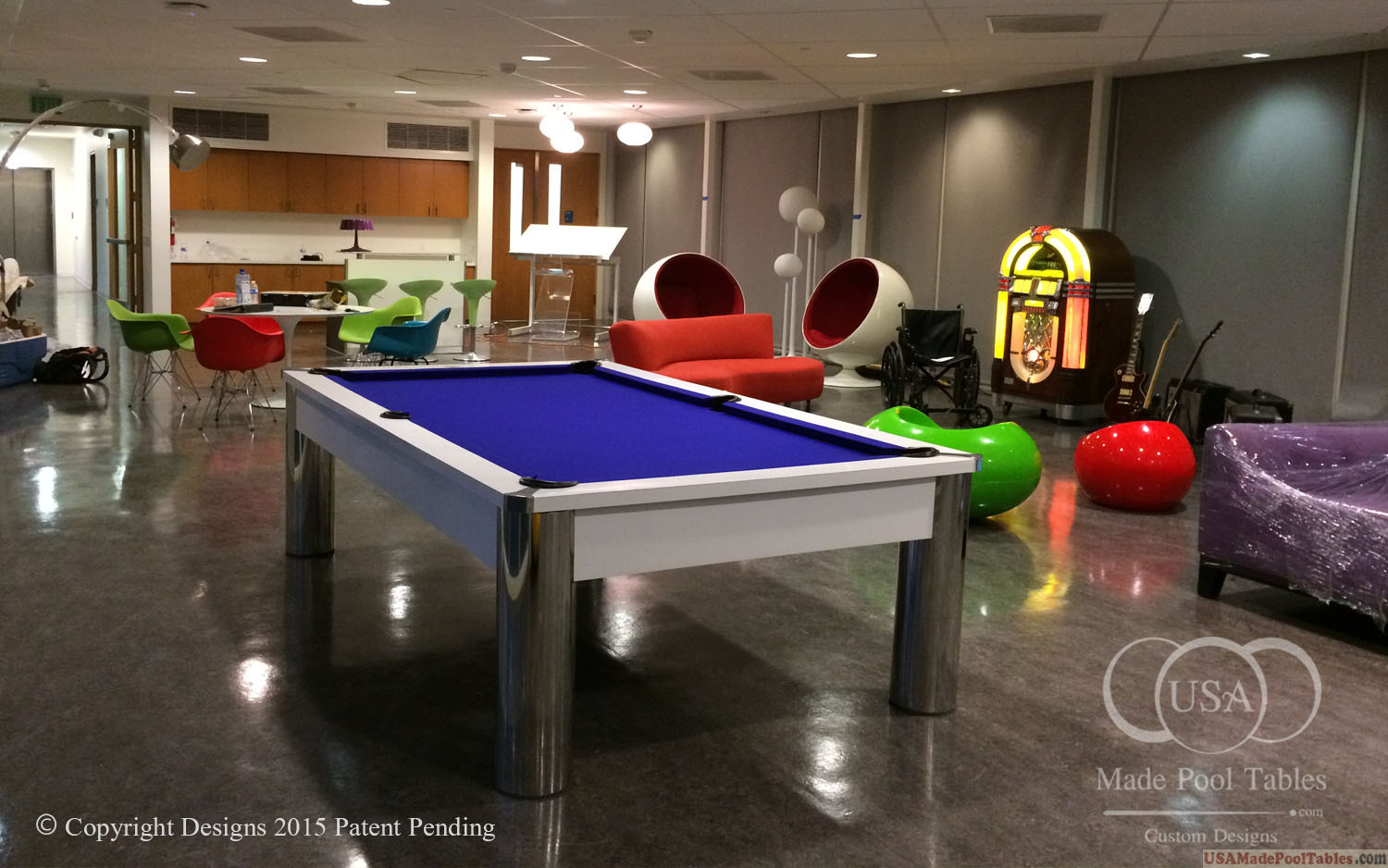 Cosmopolitan Contemporary Pool Tables Modern Pool Table