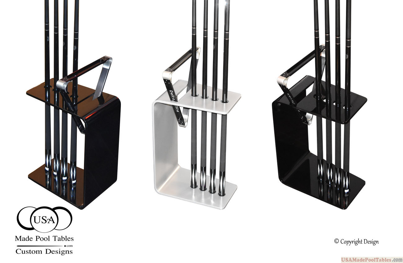 Modern Cue racks