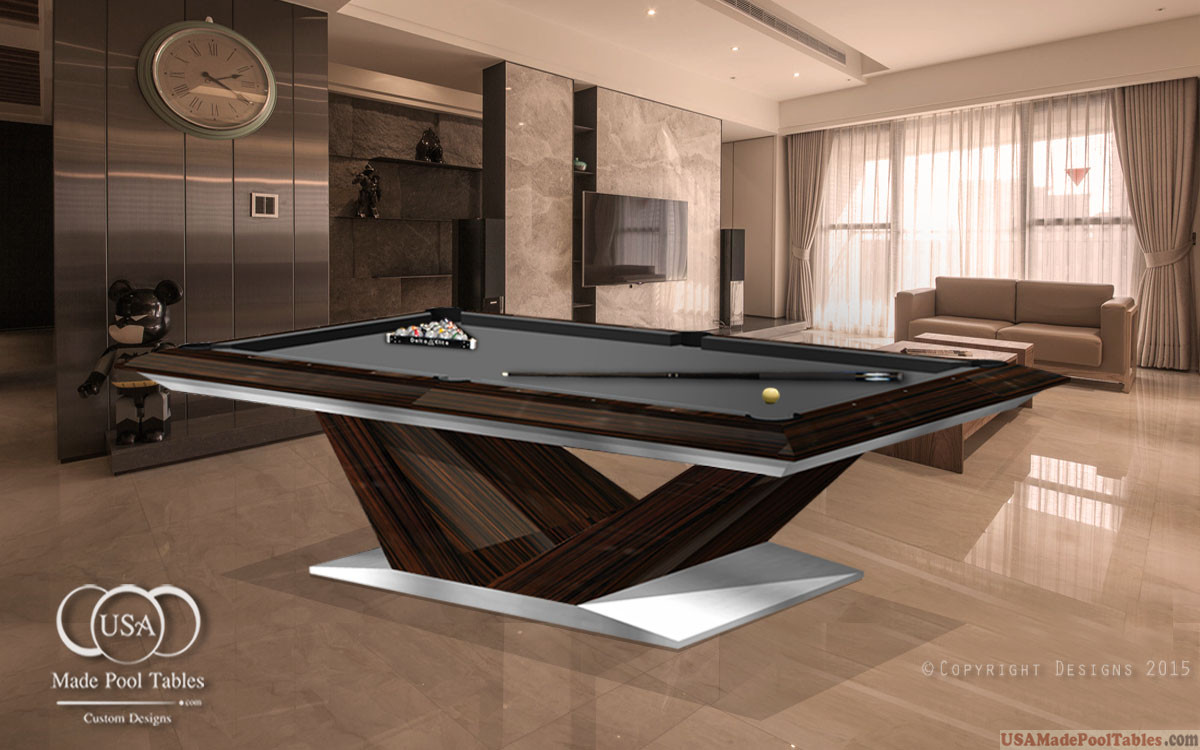 CONTEMPORARY POOL TABLES : MODERN POOL TABLES