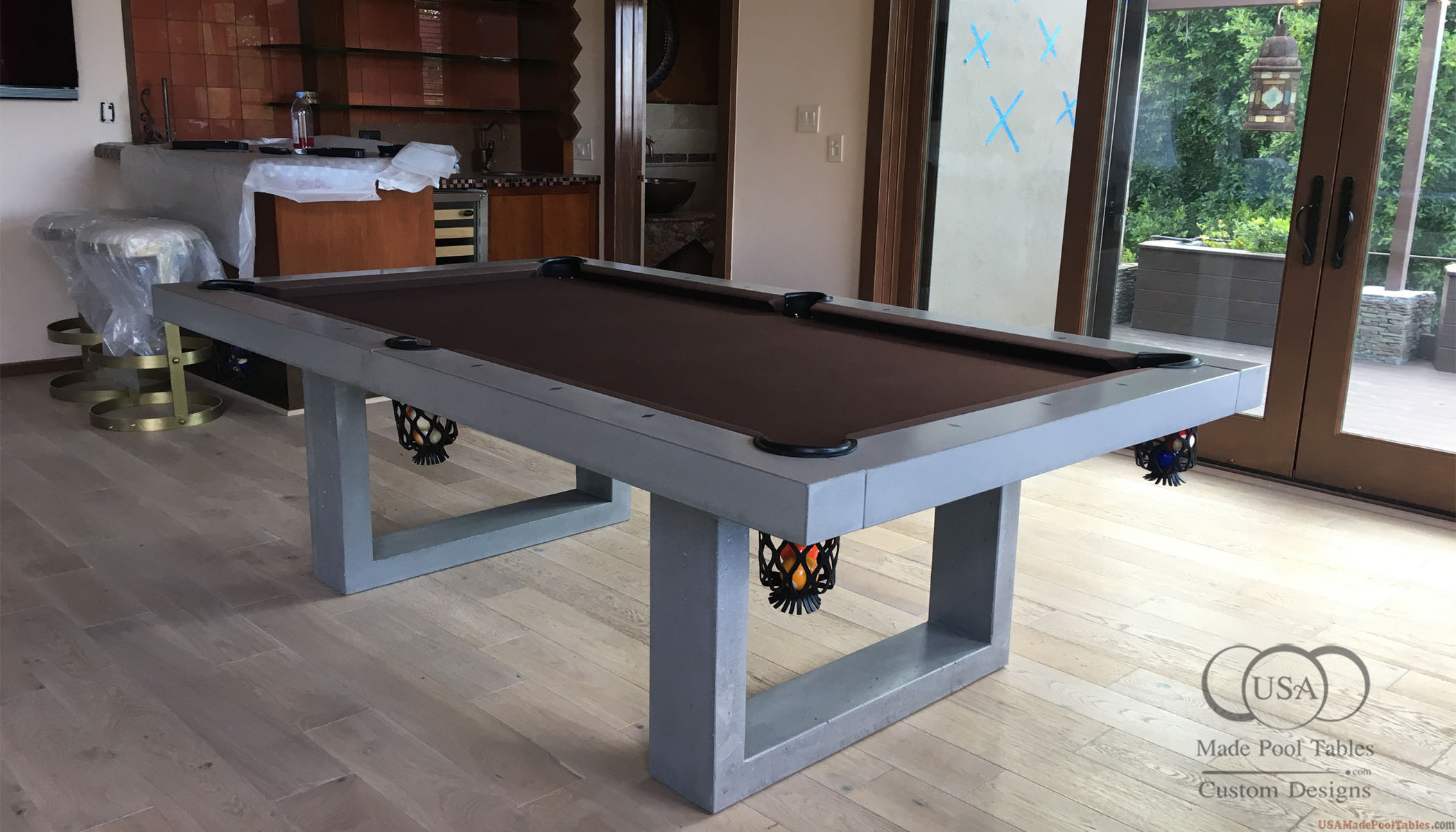 CONCRETE POOL TABLES