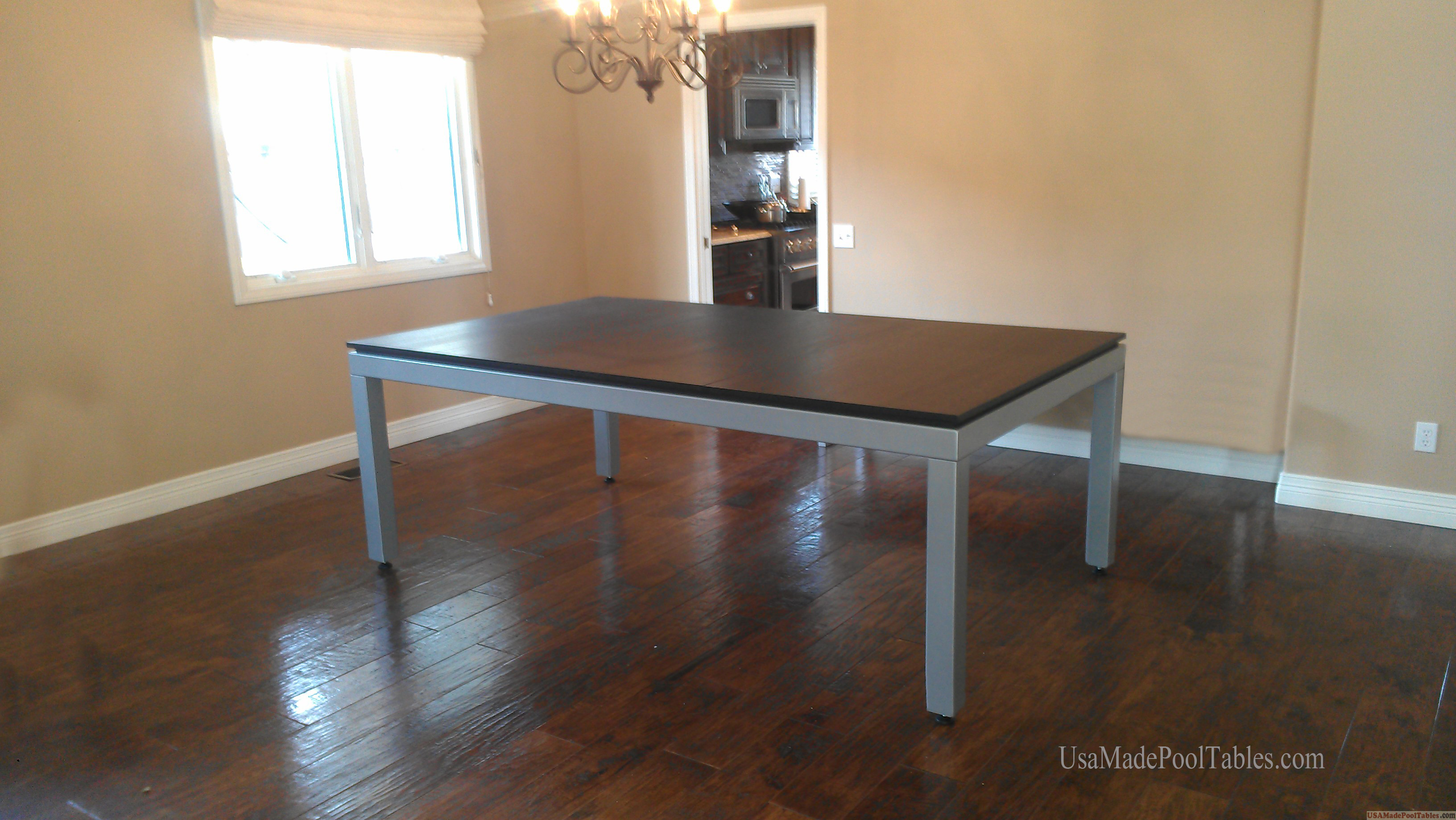 Fusion Contemporary Pool Table Dining Pool Table