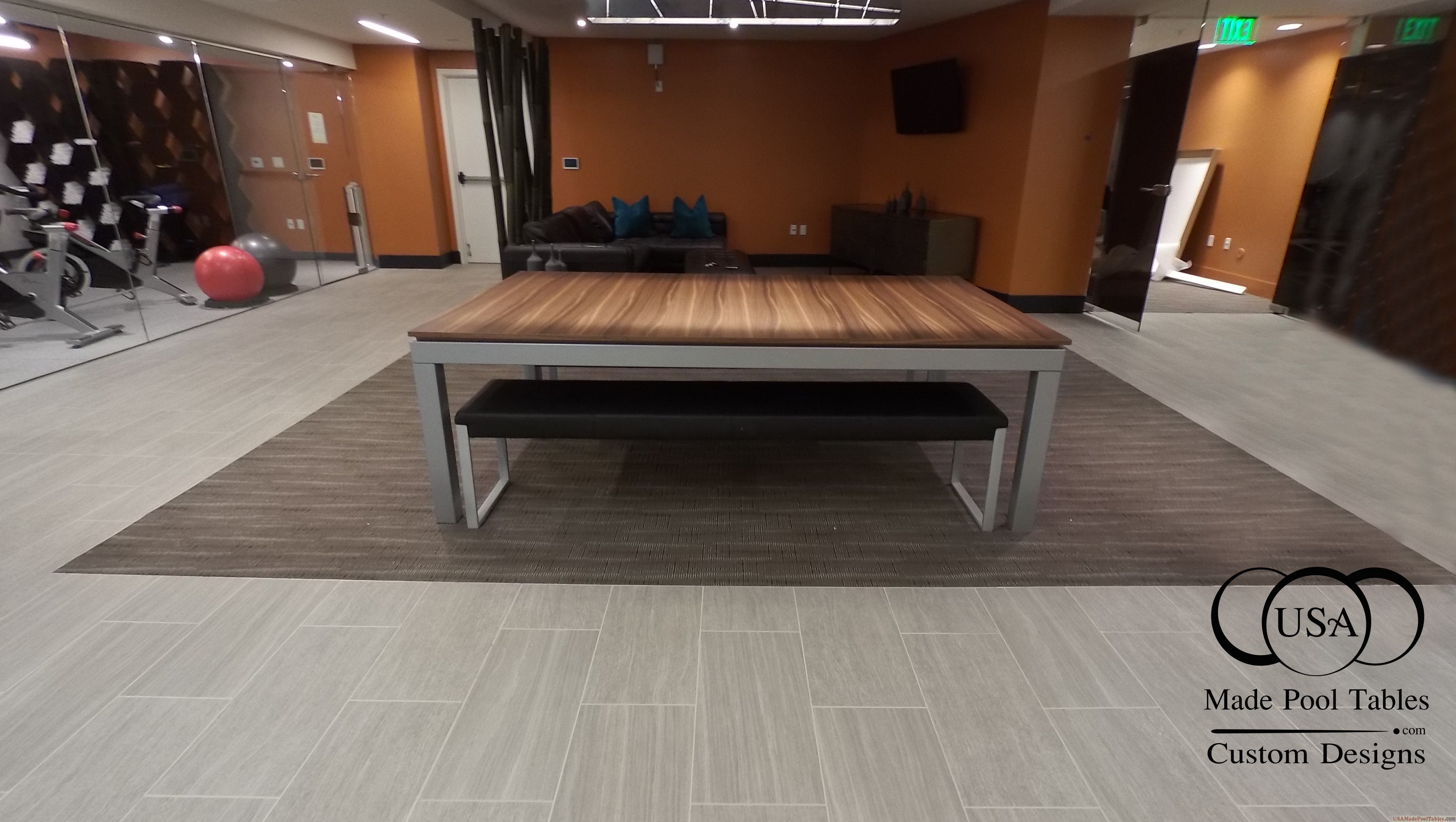 Fusion Pool Table Contemporary Pool Tables Modern Pool