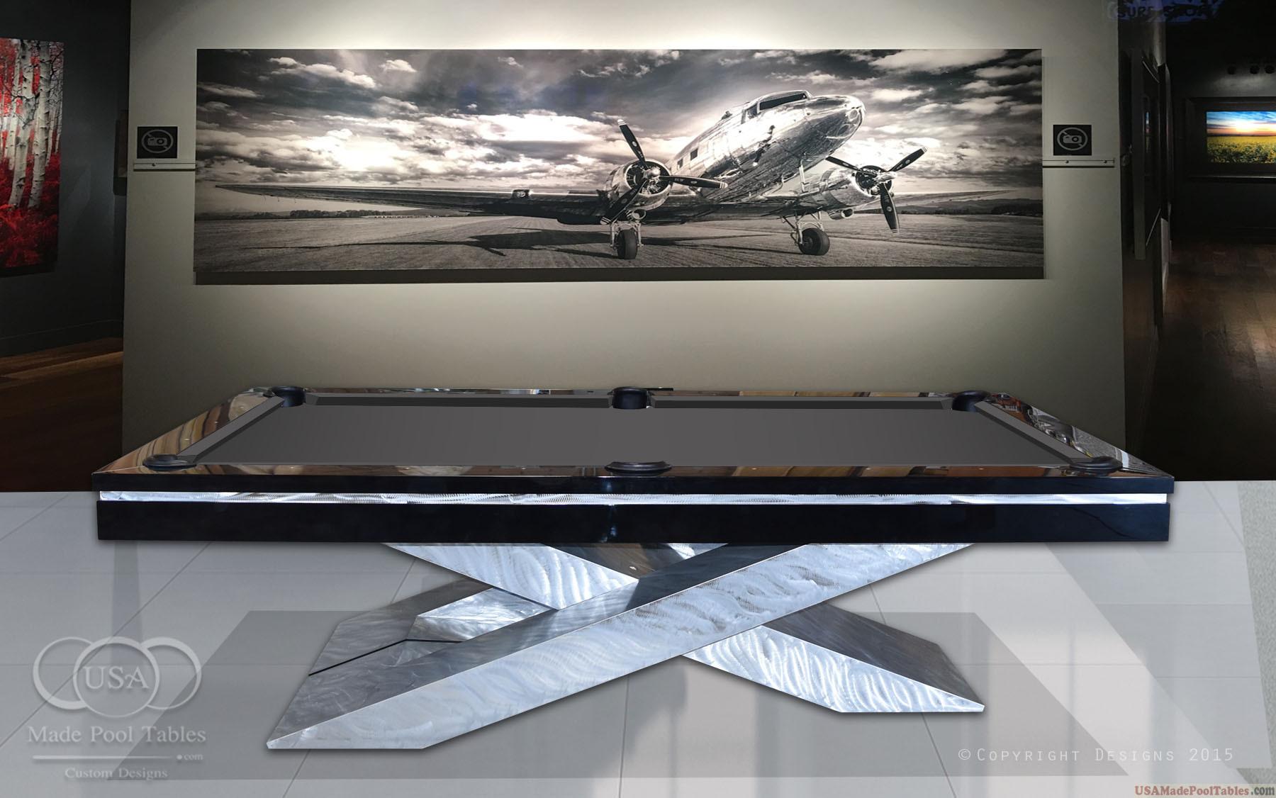 ULTRA MODERN POOL TABLE