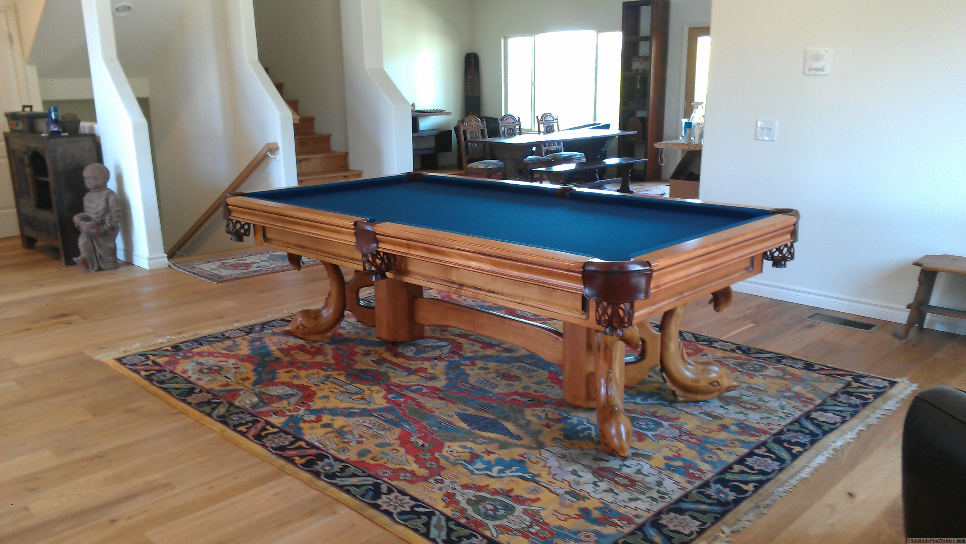 Brunswick Used Pool Tables >> VENICE POOL TABLE : AMERICAN MADE : SOLID WOOD ...
