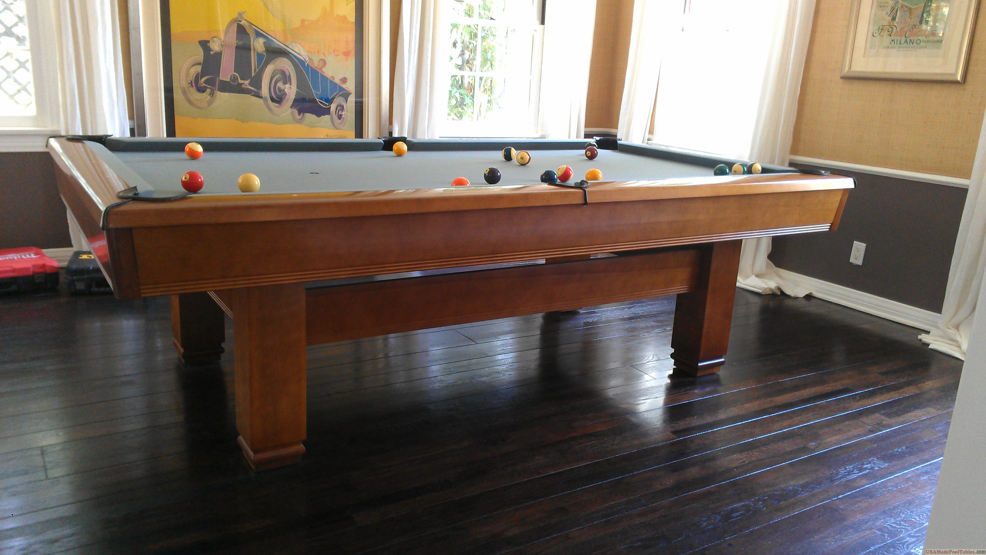 USED POOL TABLES LOS ANGELES BRUNSWICK POOL TABLES VENTURA - Milano pool table
