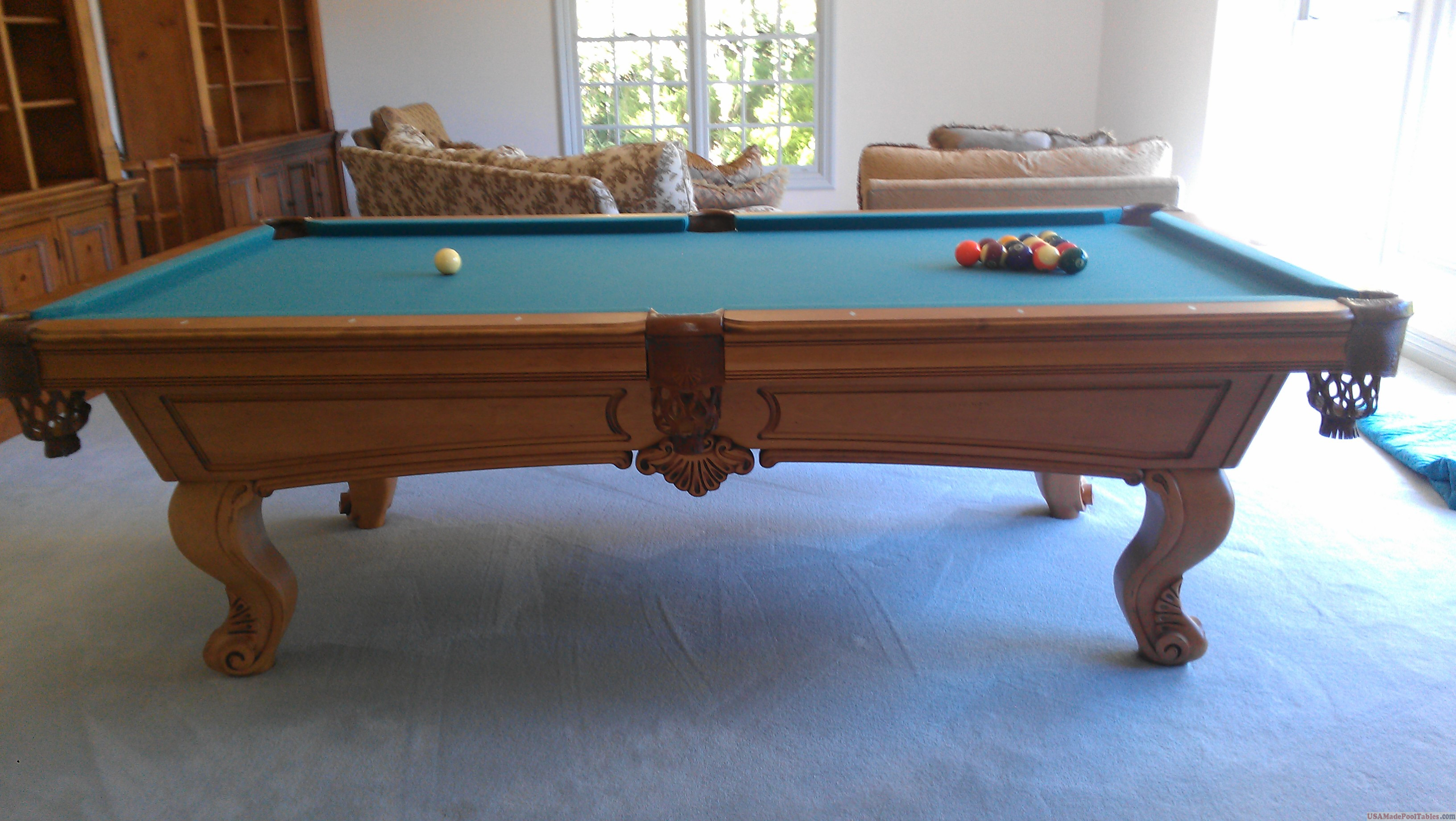 Usa Made Pool Tables & OLHAUSEN POOL TABLES : USED POOL TABLES : LOS ANGELES ...