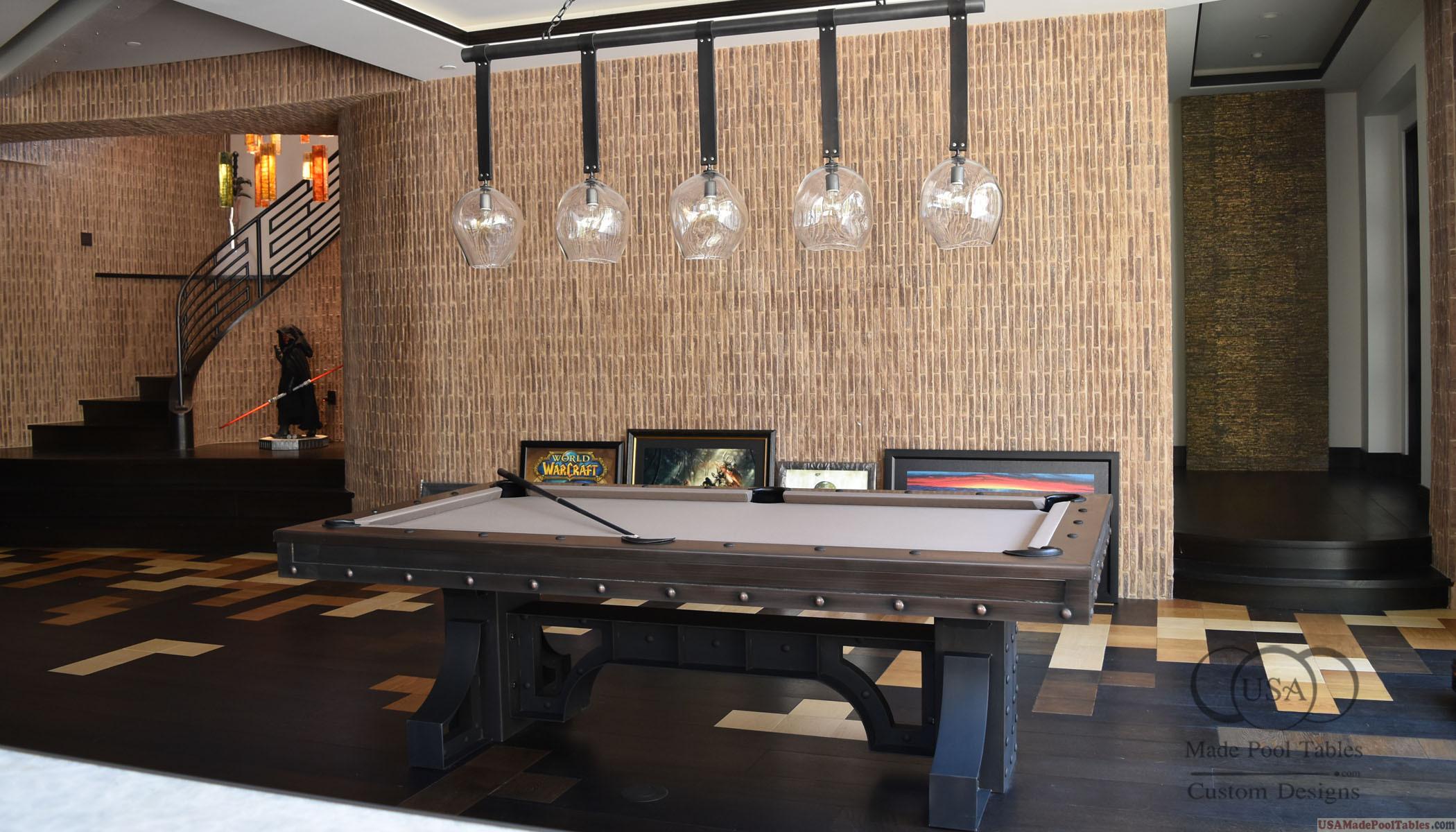 Industrial Pool Tables Custom Pool Tables Modern Pool