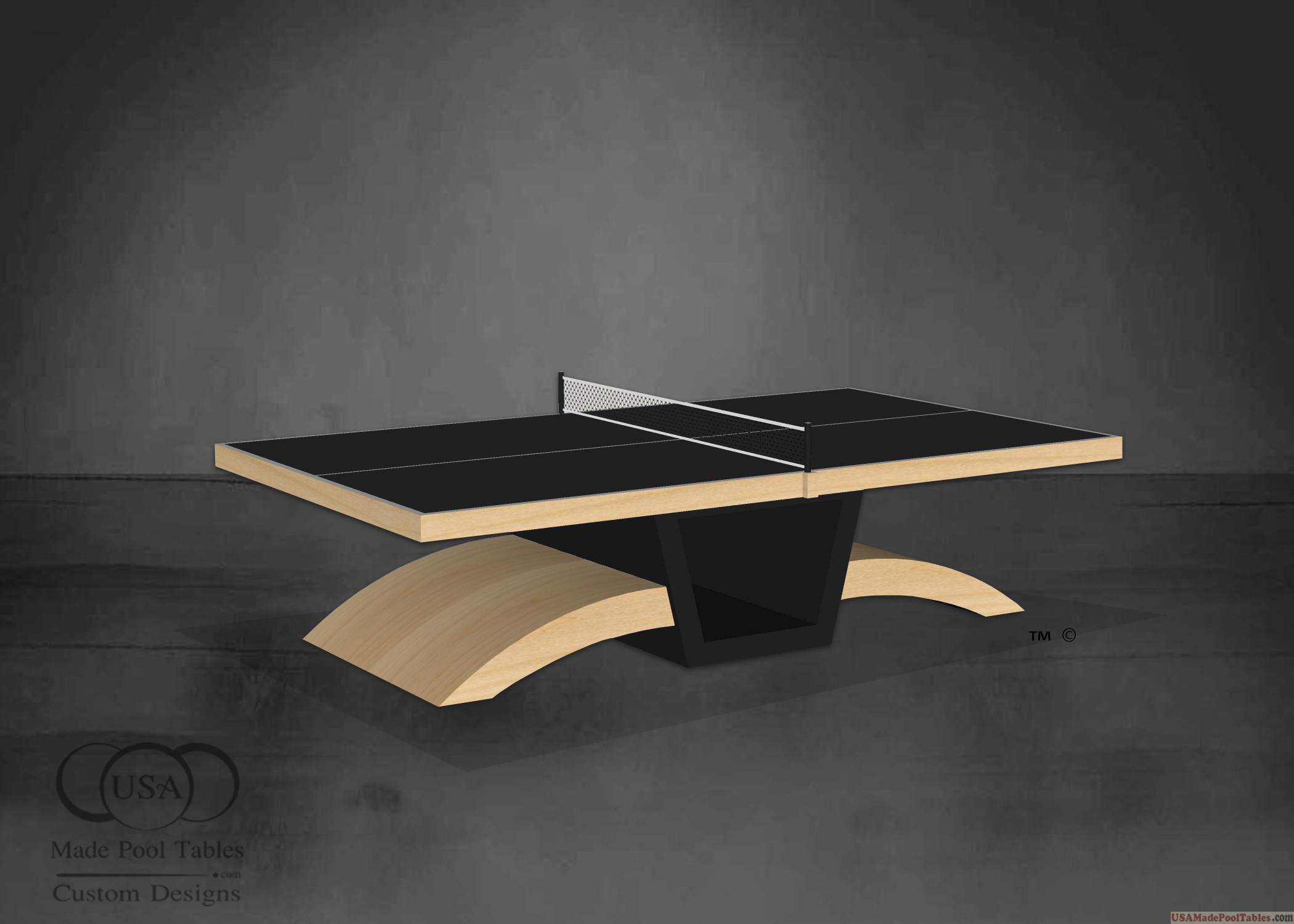 N Maple Ping Pong Tables : Tennis Table