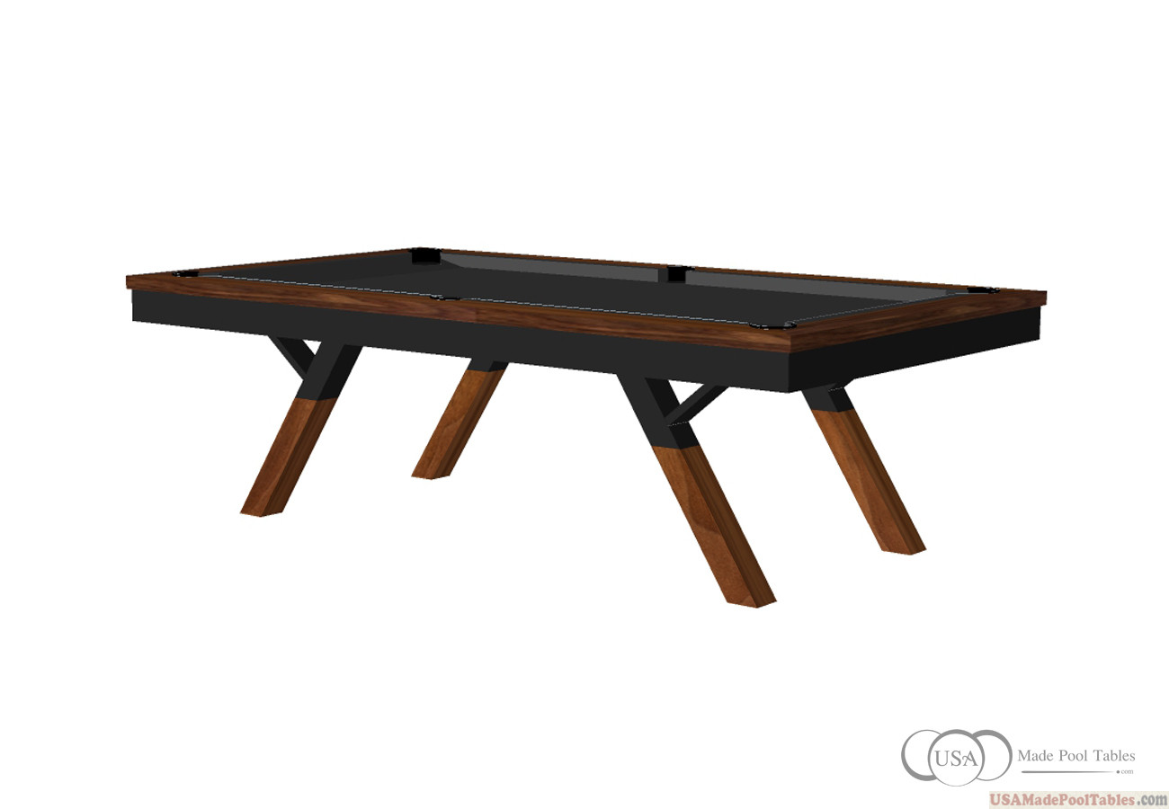 Karma Pool Table Black Walnut