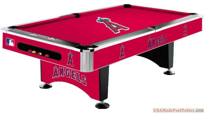 MLB Los Angeles Angels Pool table : LOS ANGELES POOL TABLES :