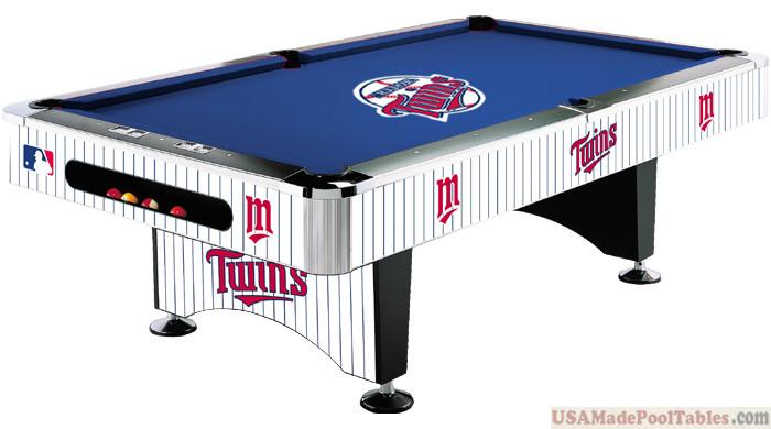 MLB Minnesota Twins Pool table : MINNESOTA POOL TABLES :