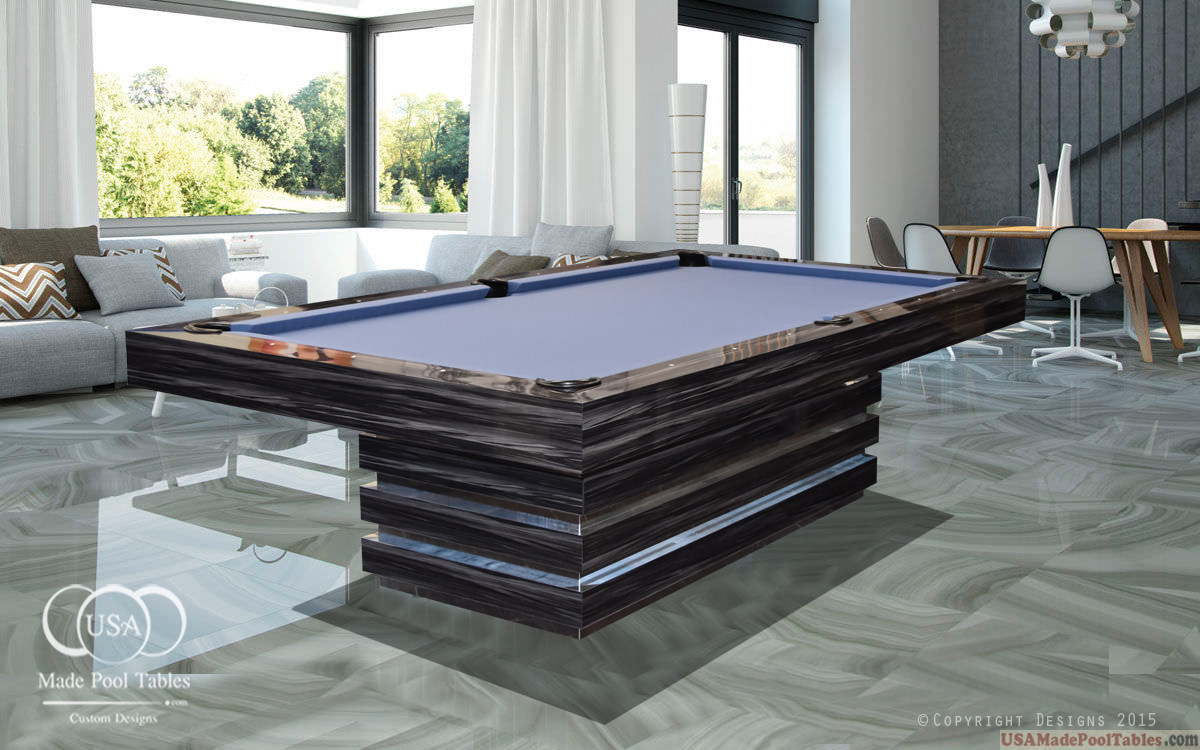 Dining Pool Table Modern Pool Tables Contemporary Pool Tables Modern Pool Table Custom