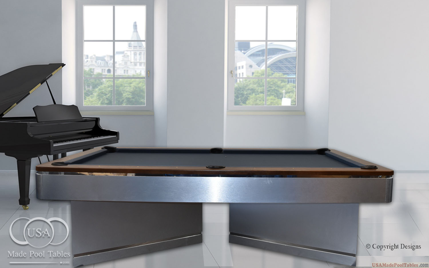 Marvelous Andromeda Contemporary Pool Table Pool Tables For Sale Home Interior And Landscaping Sapresignezvosmurscom