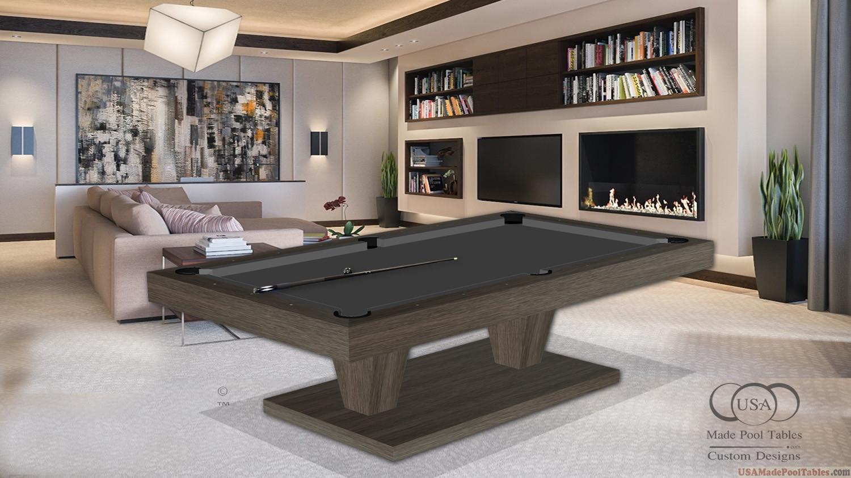 Pool Table Aspen Oak