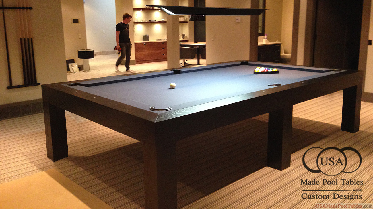 Contemporary Pool Table Contemporary Pool Tables