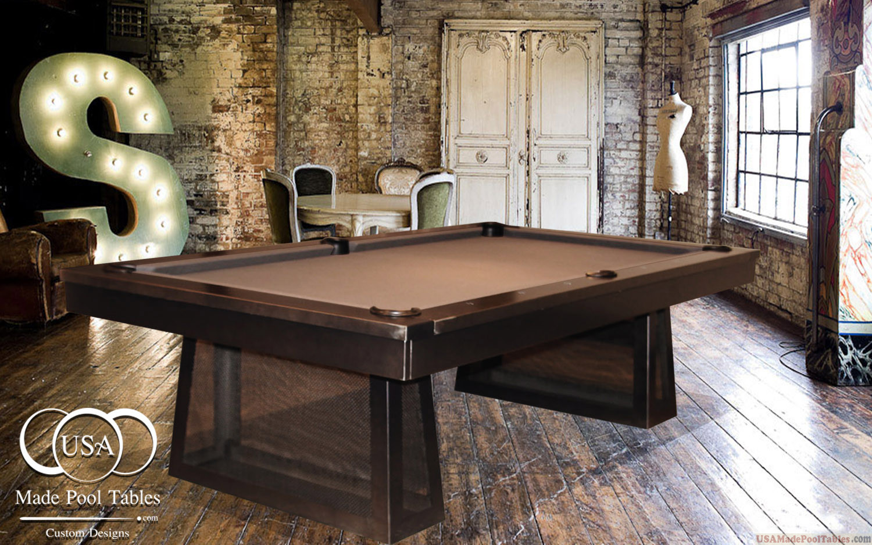 STEEL POOL TABLES