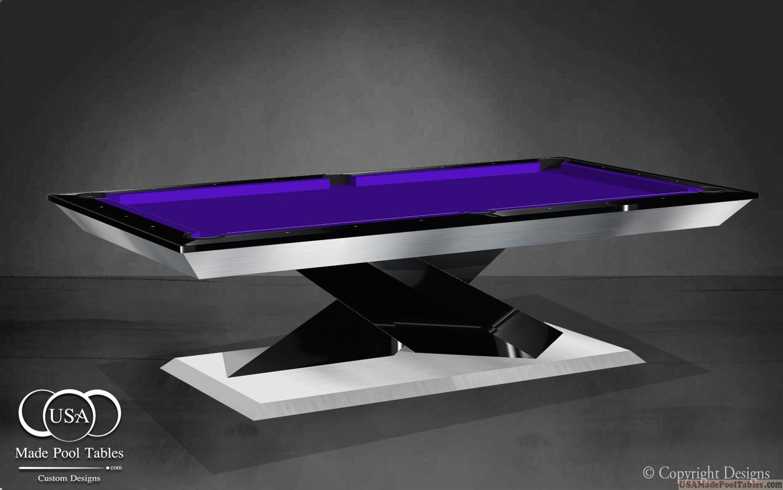 Custom Pool Tables Black