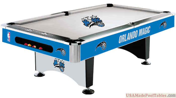 NBA Orlando Magic Pool table