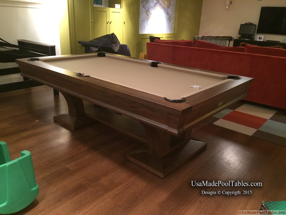CONTEMPORARY POOL TABLE : POOL TABLES
