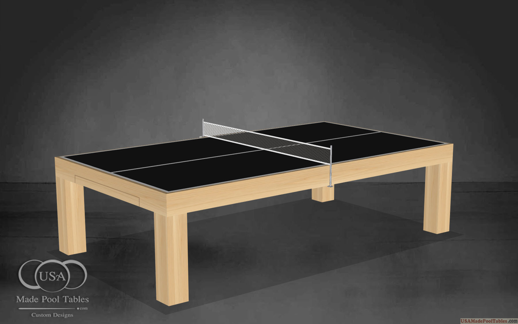 PING PONG TABLES NATURAL MAPLE