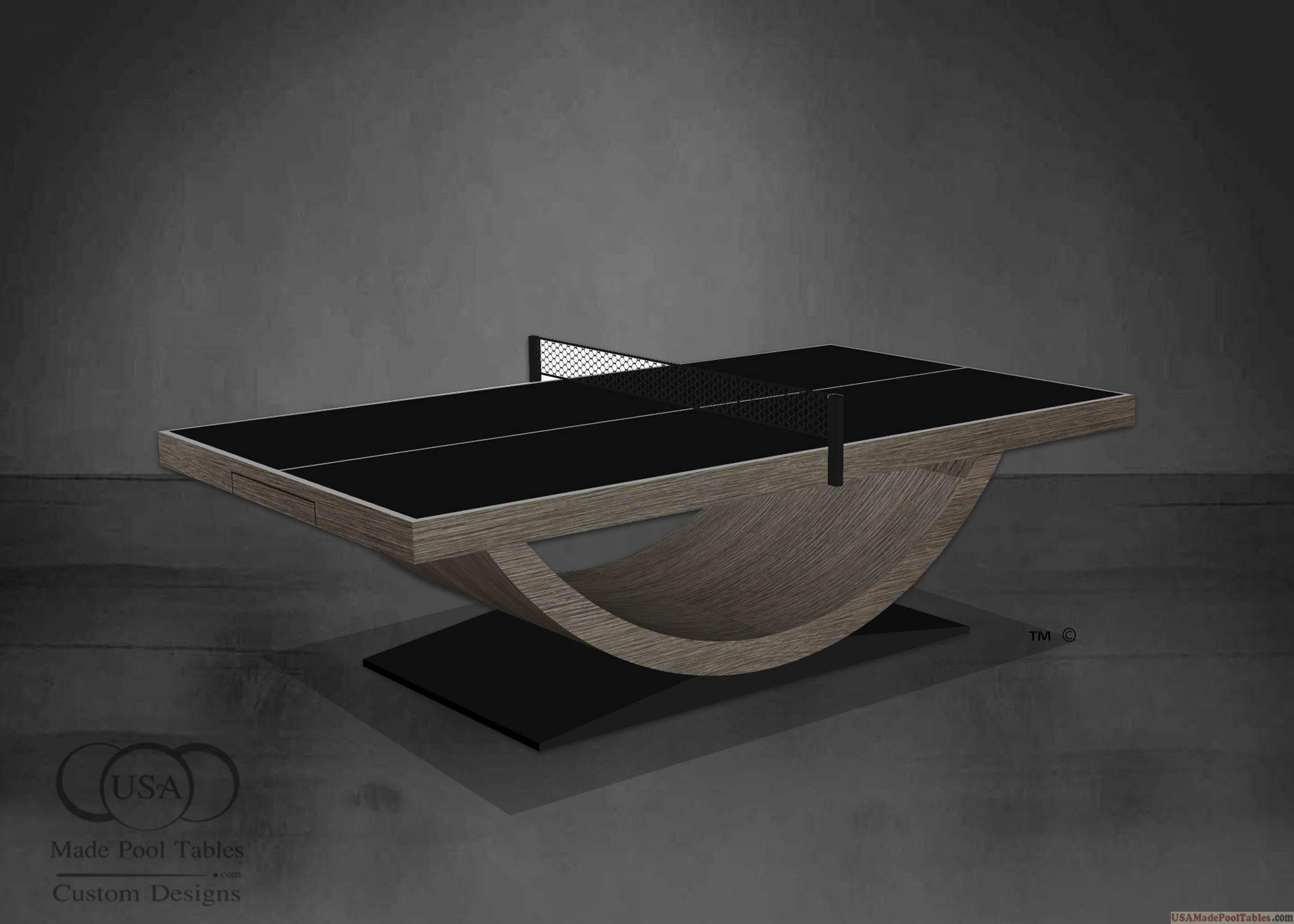 ASPEN OAK PING PONG TABLE TENNIS