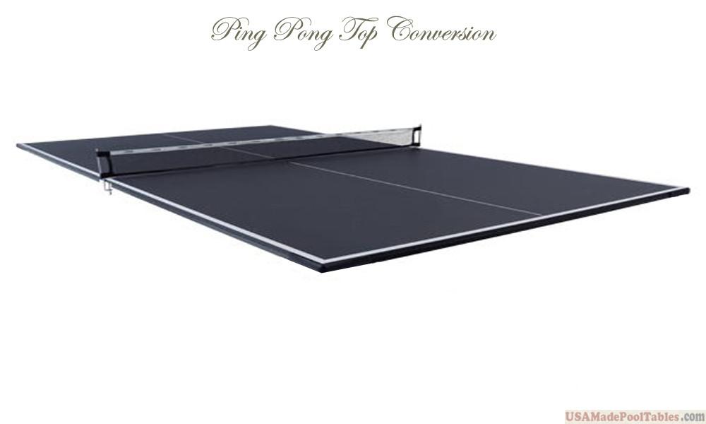 BLACK PING PONG TOP